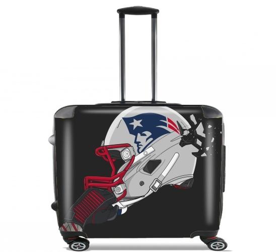 Football Helmets New England voor Pilotenkoffer