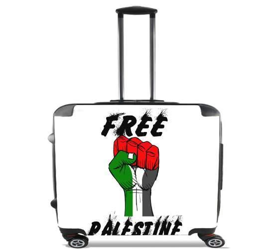 Free Palestine voor Pilotenkoffer