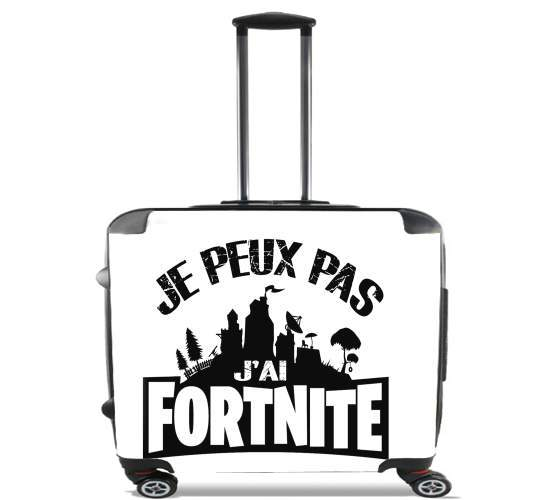 "I cant i have Fortnite for Wheeled bag cabin luggage suitcase trolley 17"" laptop"