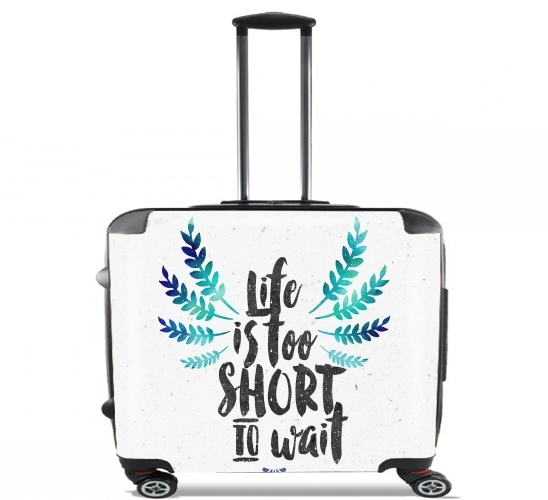 Life's too short to wait voor Pilotenkoffer