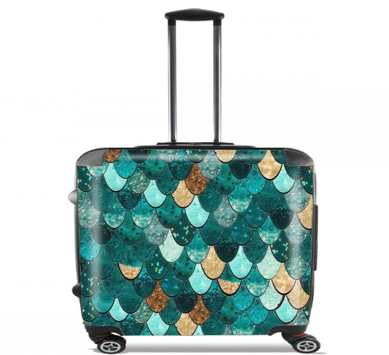 "MERMAID for Wheeled bag cabin luggage suitcase trolley 17"" laptop"