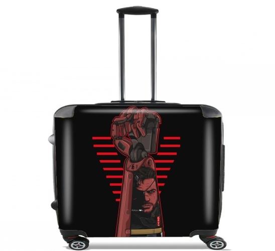 valise metal power gear ordinateur roulettes bagage. Black Bedroom Furniture Sets. Home Design Ideas