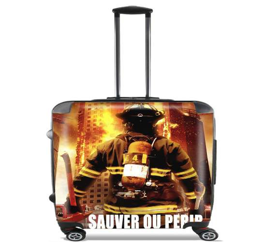 Save or perish Firemen fire soldiers voor Pilotenkoffer