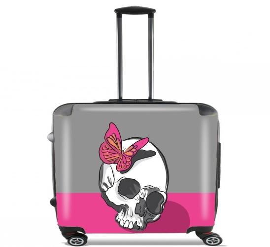 Skull & Butterfly voor Pilotenkoffer