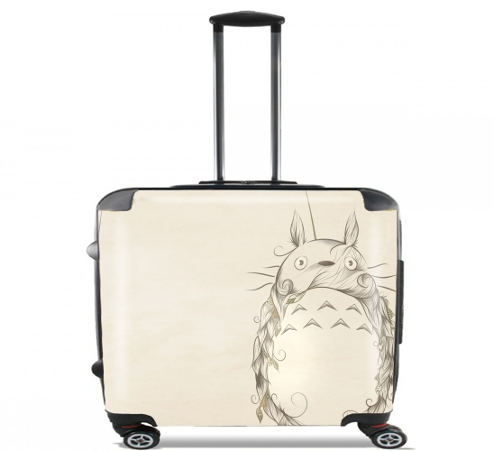 "Poetic Creature for Wheeled bag cabin luggage suitcase trolley 17"" laptop"