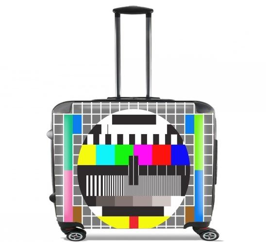 rollentasche handgep ck koffer trolley 17 laptop mit. Black Bedroom Furniture Sets. Home Design Ideas