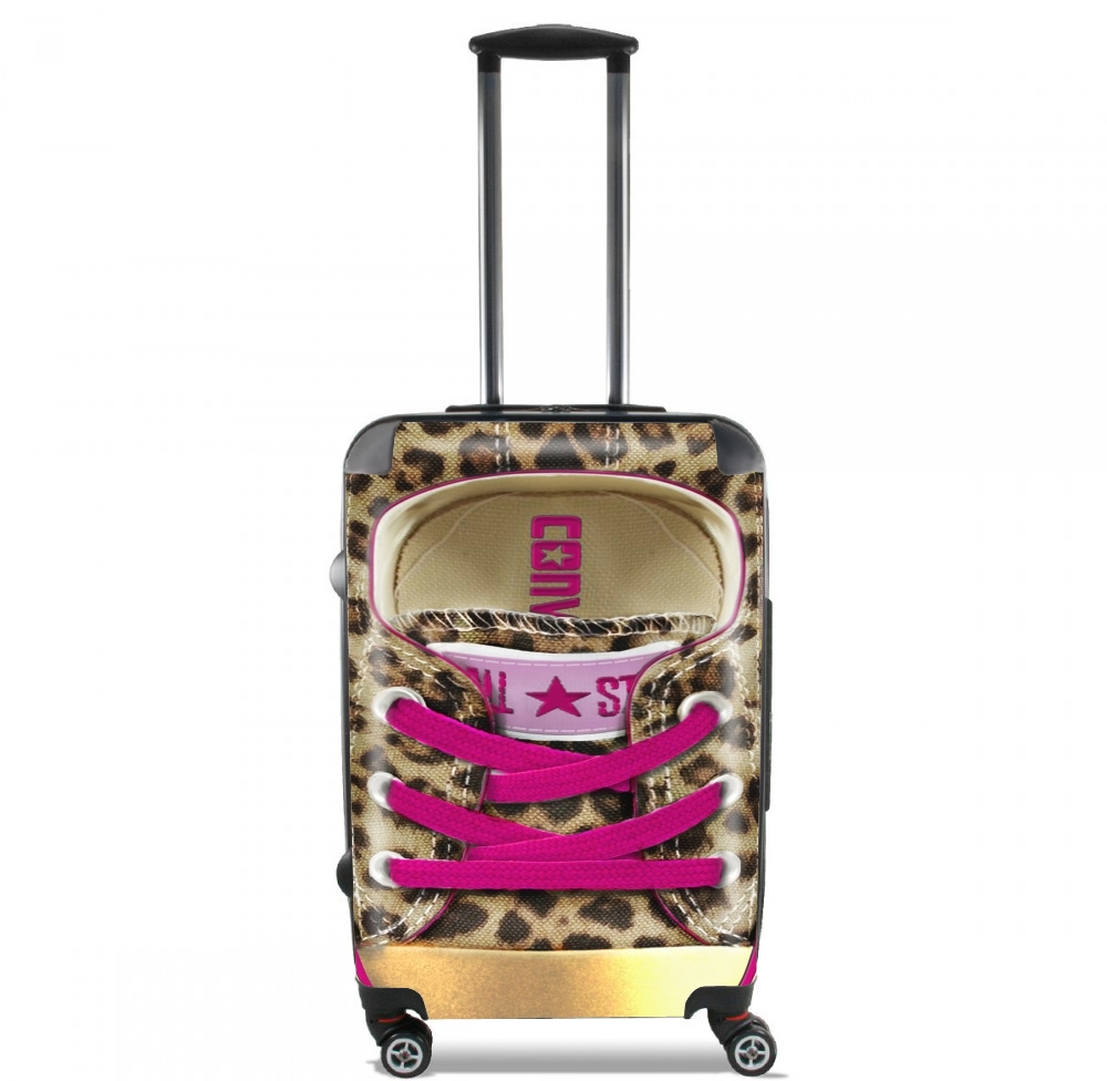 valise bagage cabine all star leopard. Black Bedroom Furniture Sets. Home Design Ideas