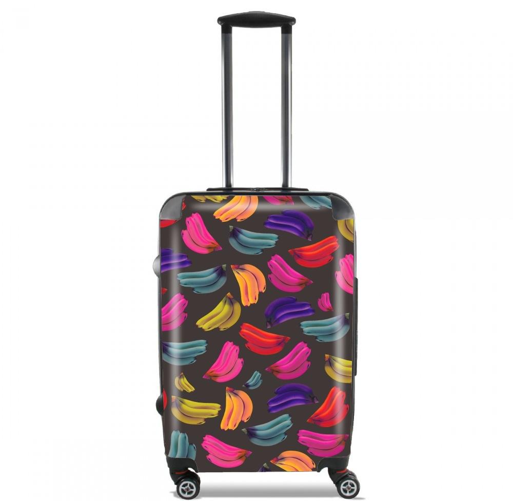valise bagage cabine bananas coloridas. Black Bedroom Furniture Sets. Home Design Ideas