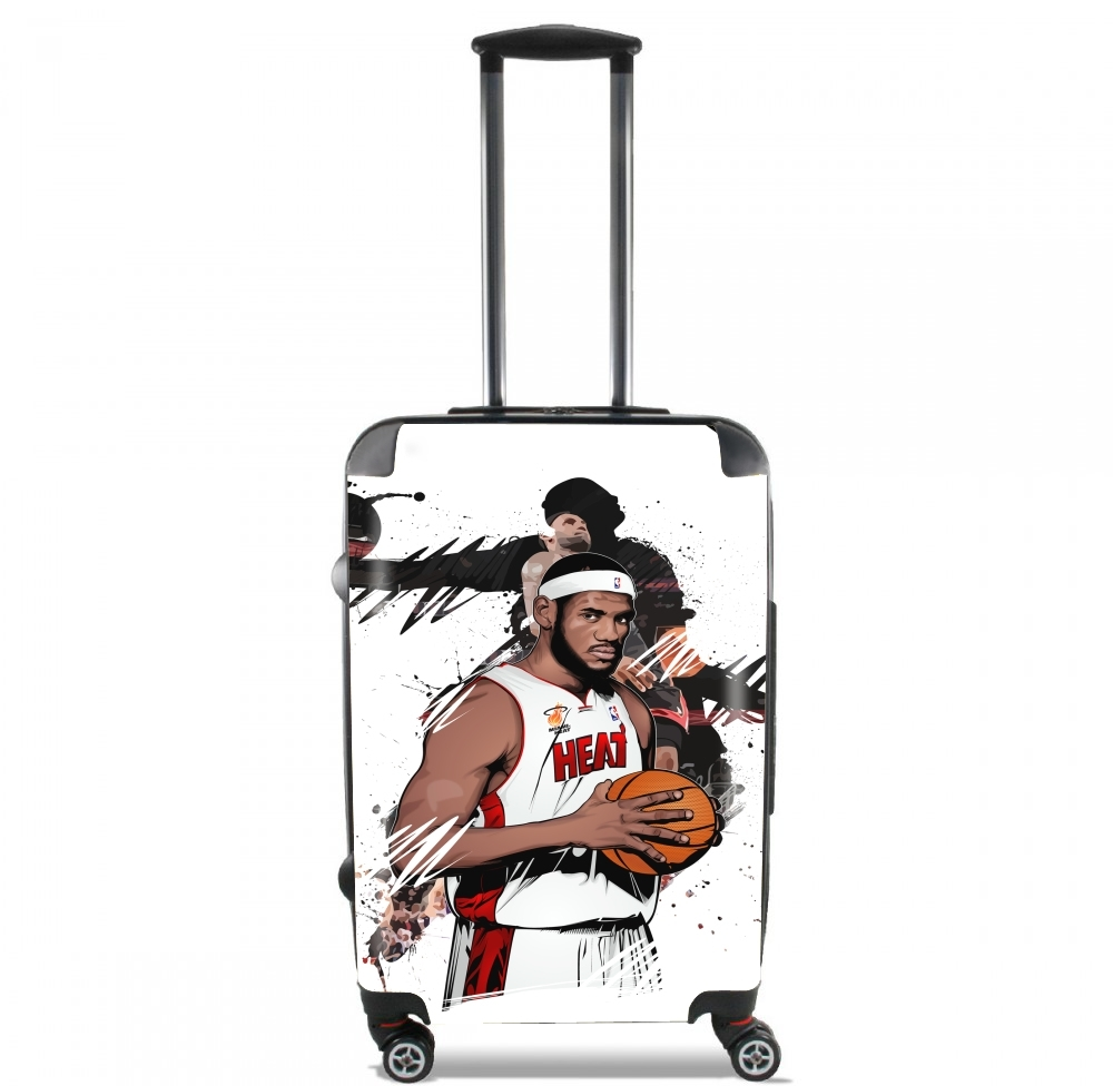 Valise bagage Cabine pour Basketball Stars: Lebron James