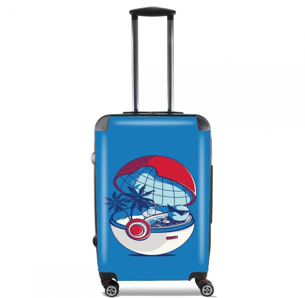 valise bagage cabine blue pokehouse. Black Bedroom Furniture Sets. Home Design Ideas