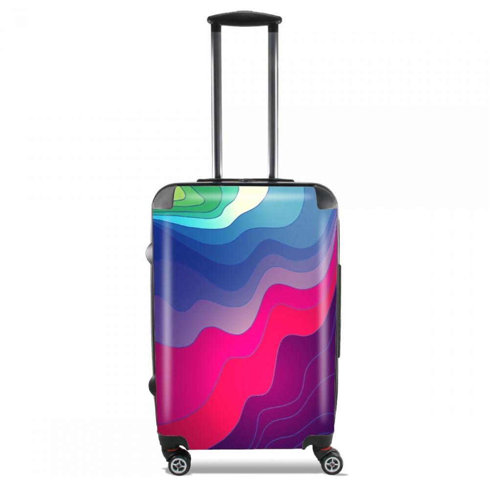 valise bagage cabine lignes floues. Black Bedroom Furniture Sets. Home Design Ideas
