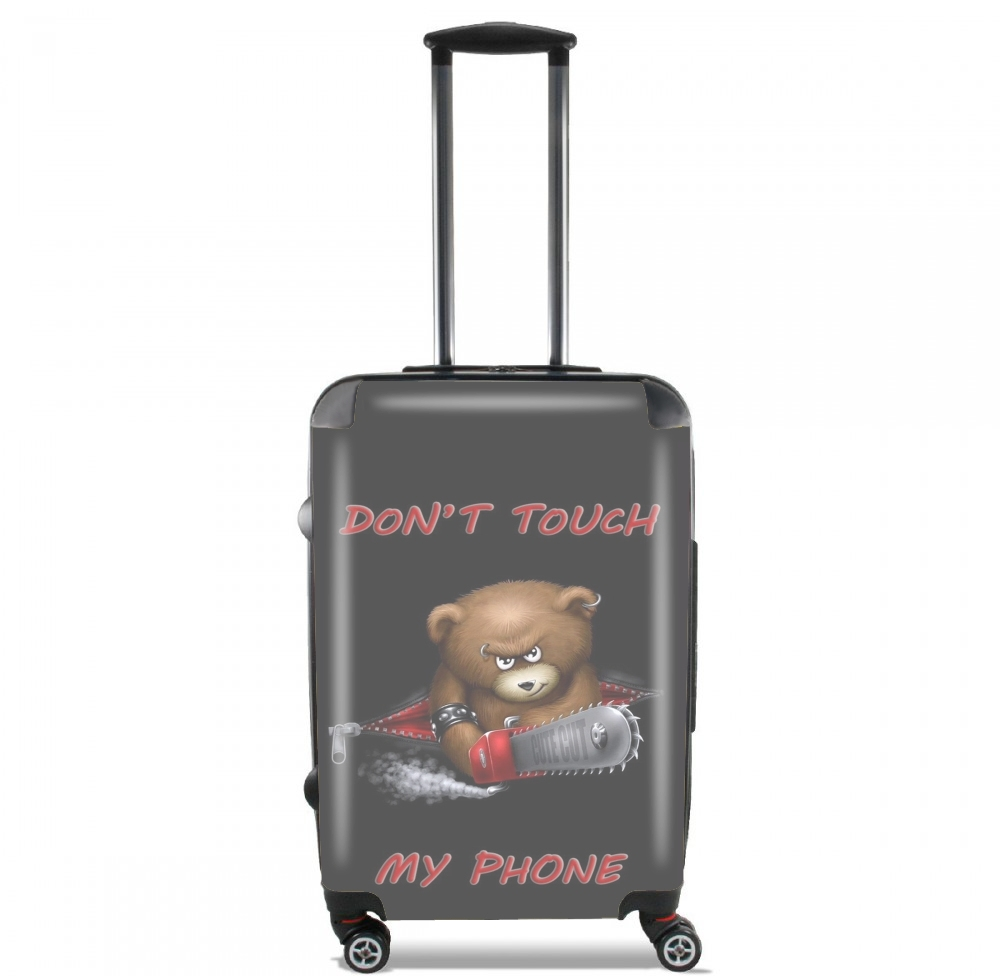 Don't touch my phone voor Handbagage koffers
