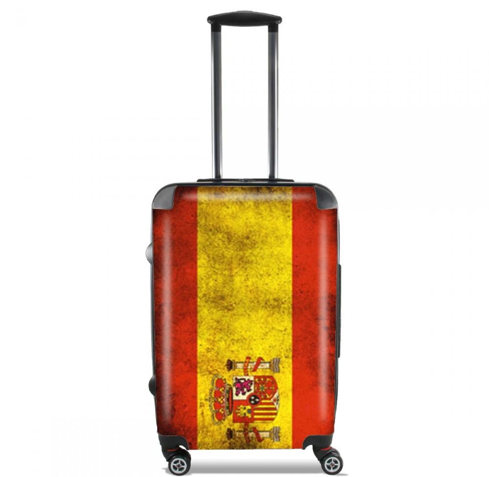 Flag Spain Vintage for Lightweight Hand Luggage Bag - Cabin Baggage