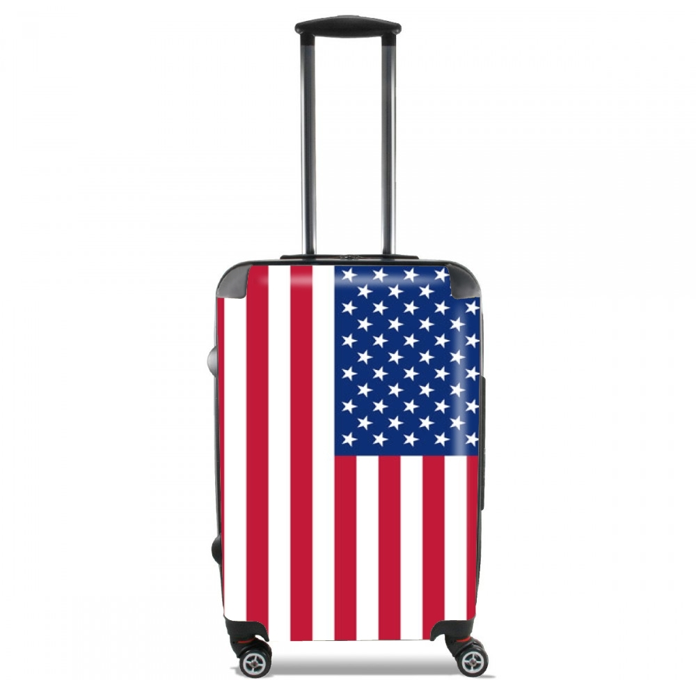 Flag United States for Lightweight Hand Luggage Bag - Cabin Baggage
