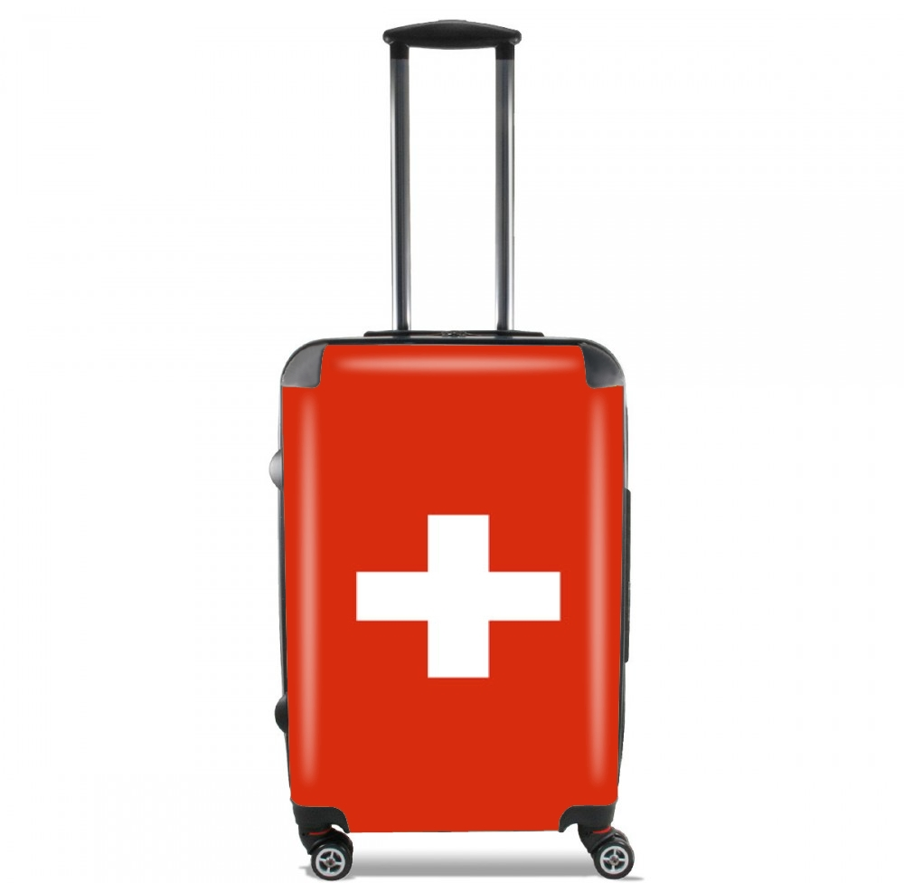 Switzerland Flag for Lightweight Hand Luggage Bag - Cabin Baggage