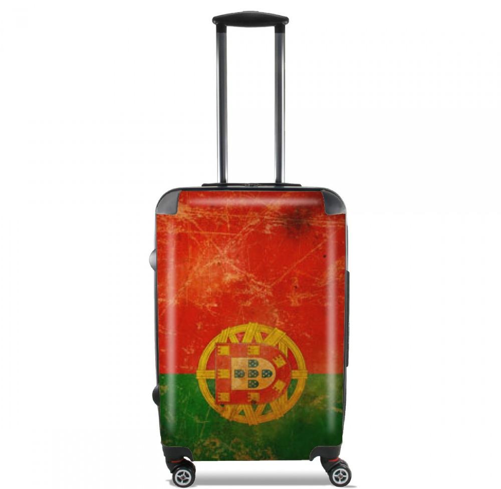 Vintage Flag Portugal for Lightweight Hand Luggage Bag - Cabin Baggage