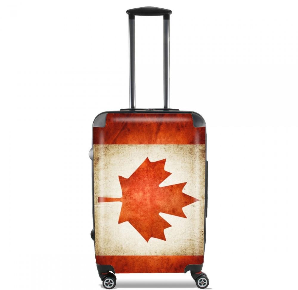 Canadian Flag Vintage for Lightweight Hand Luggage Bag - Cabin Baggage