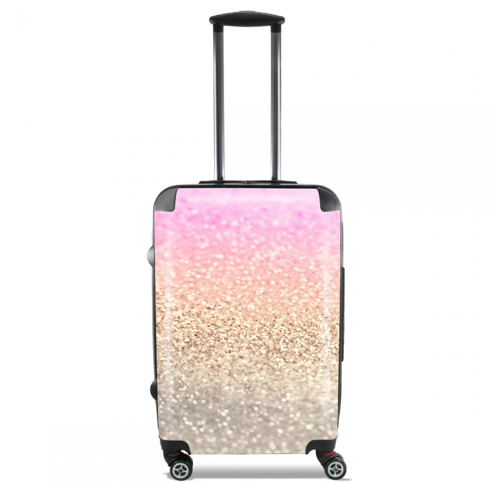 Gatsby Glitter Pink for Lightweight Hand Luggage Bag - Cabin Baggage