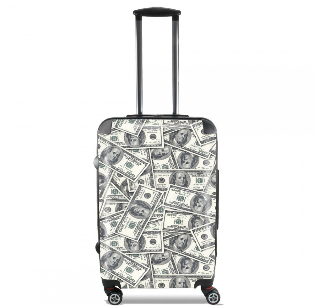 valise bagage cabine je veux de l argent. Black Bedroom Furniture Sets. Home Design Ideas