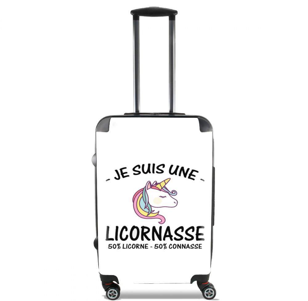 Je suis une licornasse for Lightweight Hand Luggage Bag - Cabin Baggage