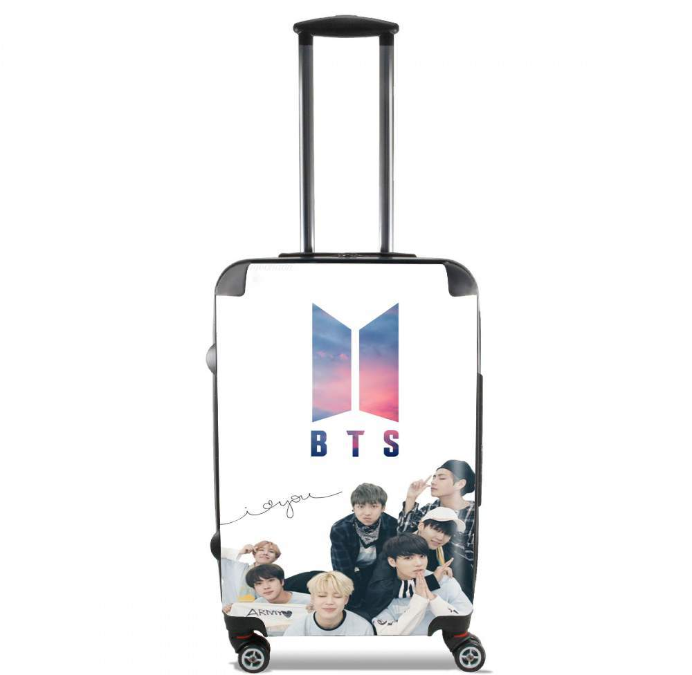 K-pop BTS Bangtan Boys for Lightweight Hand Luggage Bag - Cabin Baggage