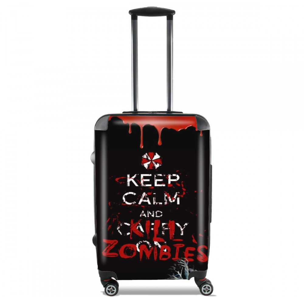 Keep Calm And Kill Zombies for Lightweight Hand Luggage Bag - Cabin Baggage