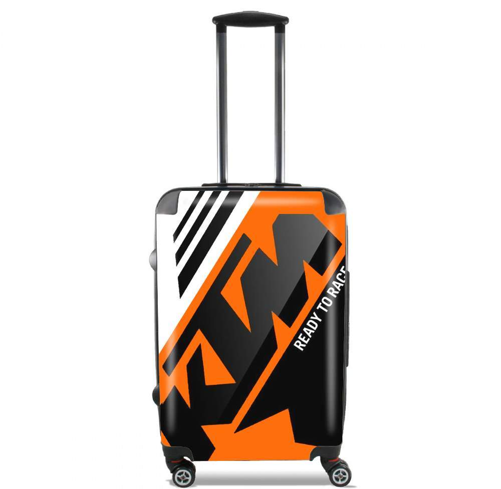 KTM Racing Orange And Black für Kabinengröße Koffer