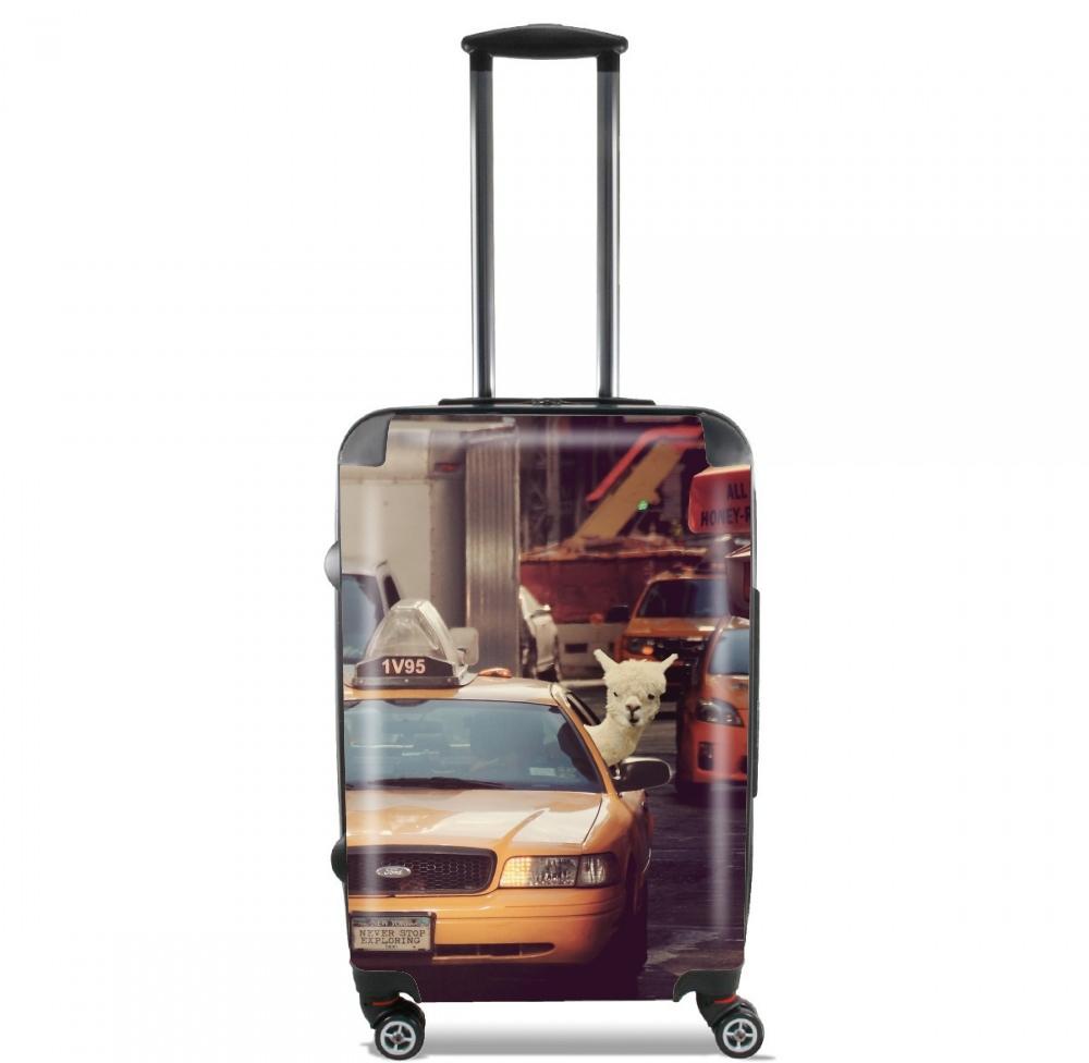 valise bagage cabine un lama new york. Black Bedroom Furniture Sets. Home Design Ideas
