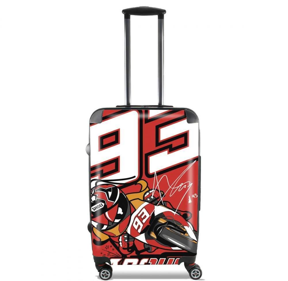 Marc marquez 93 Fan honda for Lightweight Hand Luggage Bag - Cabin Baggage