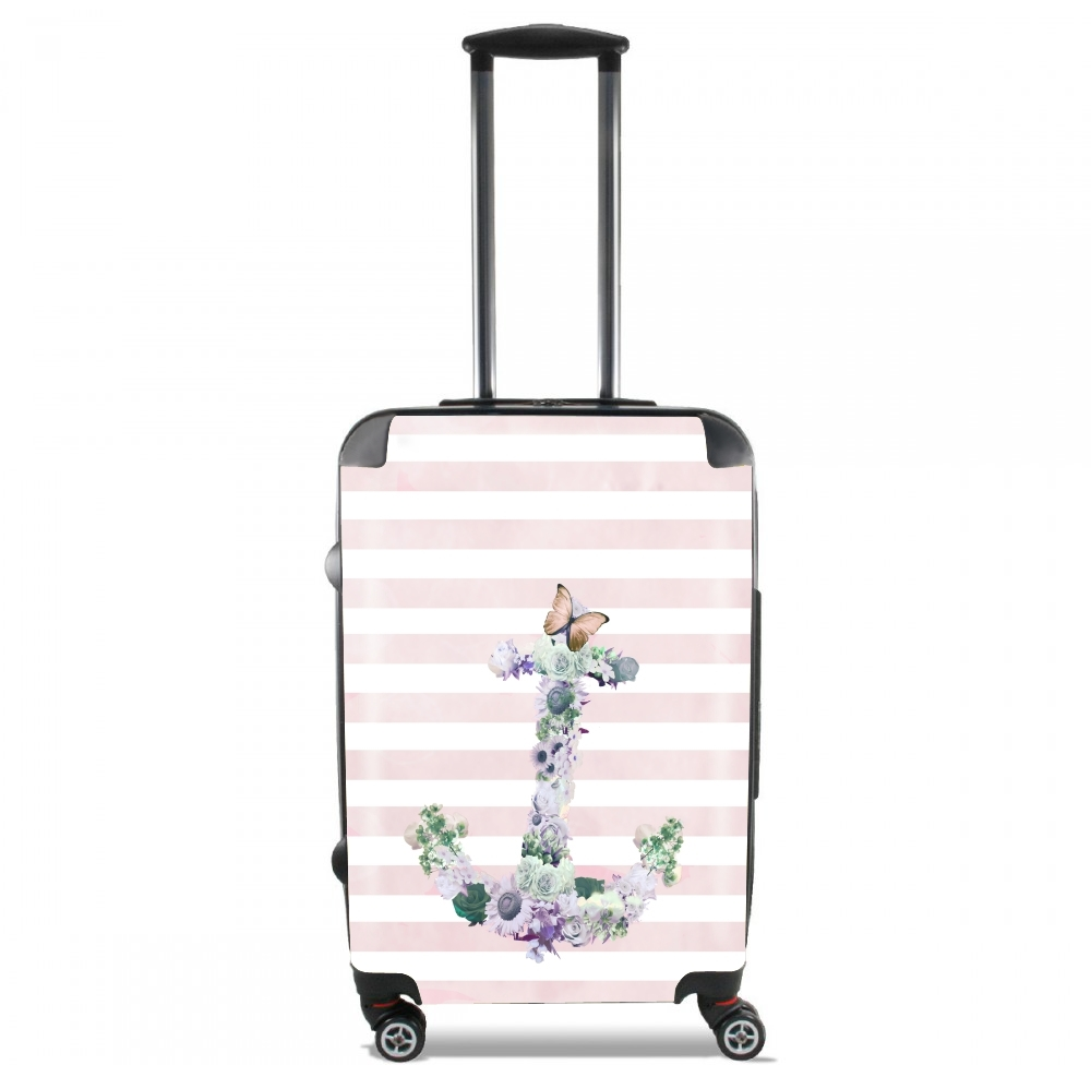 valise marini re florale rose cabine trolley personnalis e. Black Bedroom Furniture Sets. Home Design Ideas