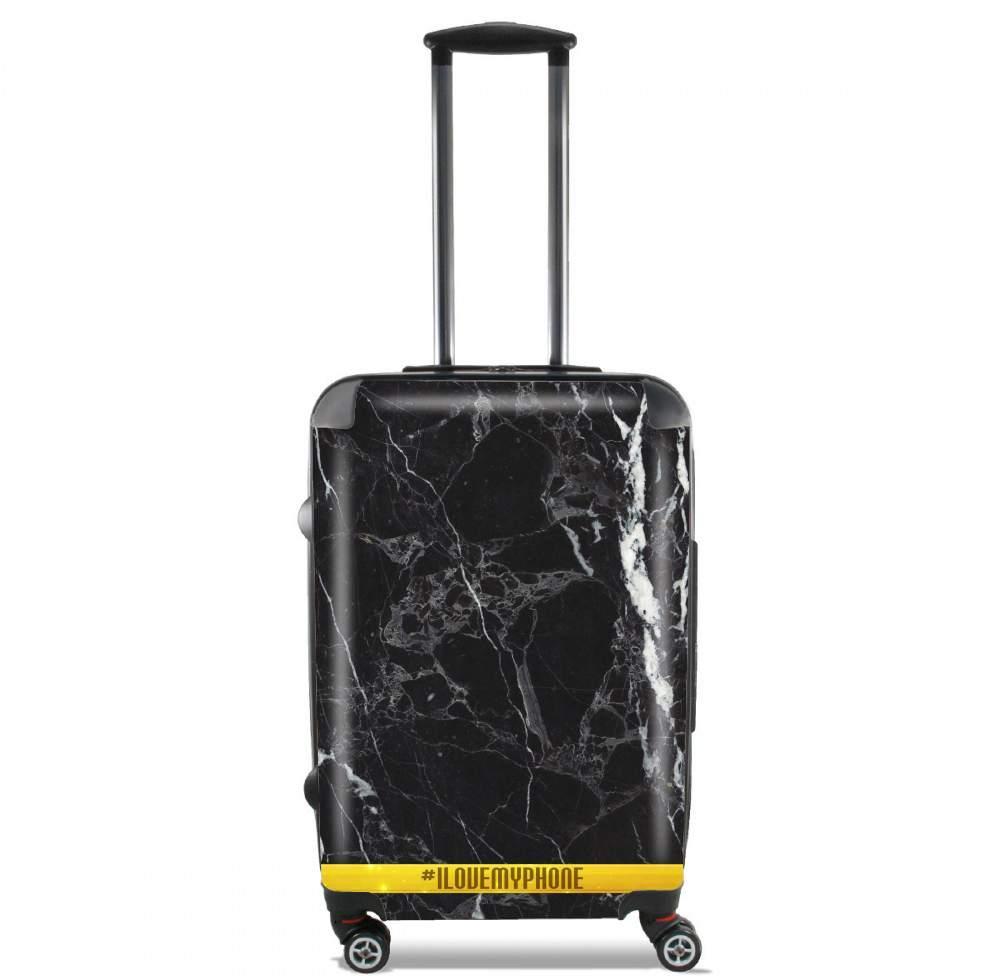valise bagage cabine minimal marbre noir. Black Bedroom Furniture Sets. Home Design Ideas