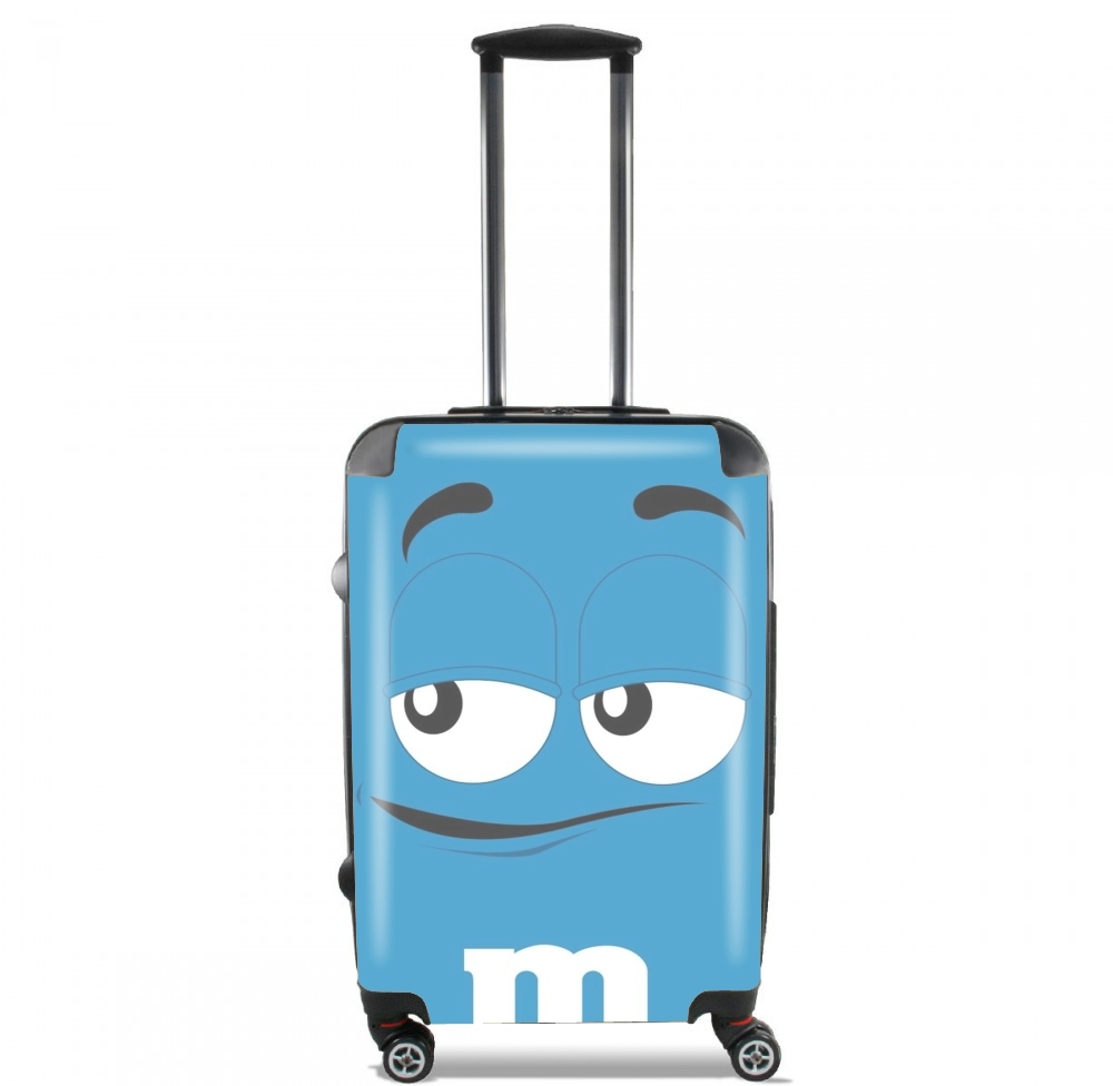 M&M's Blue voor Handbagage koffers