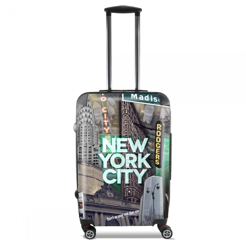 valise bagage cabine new york city ii green