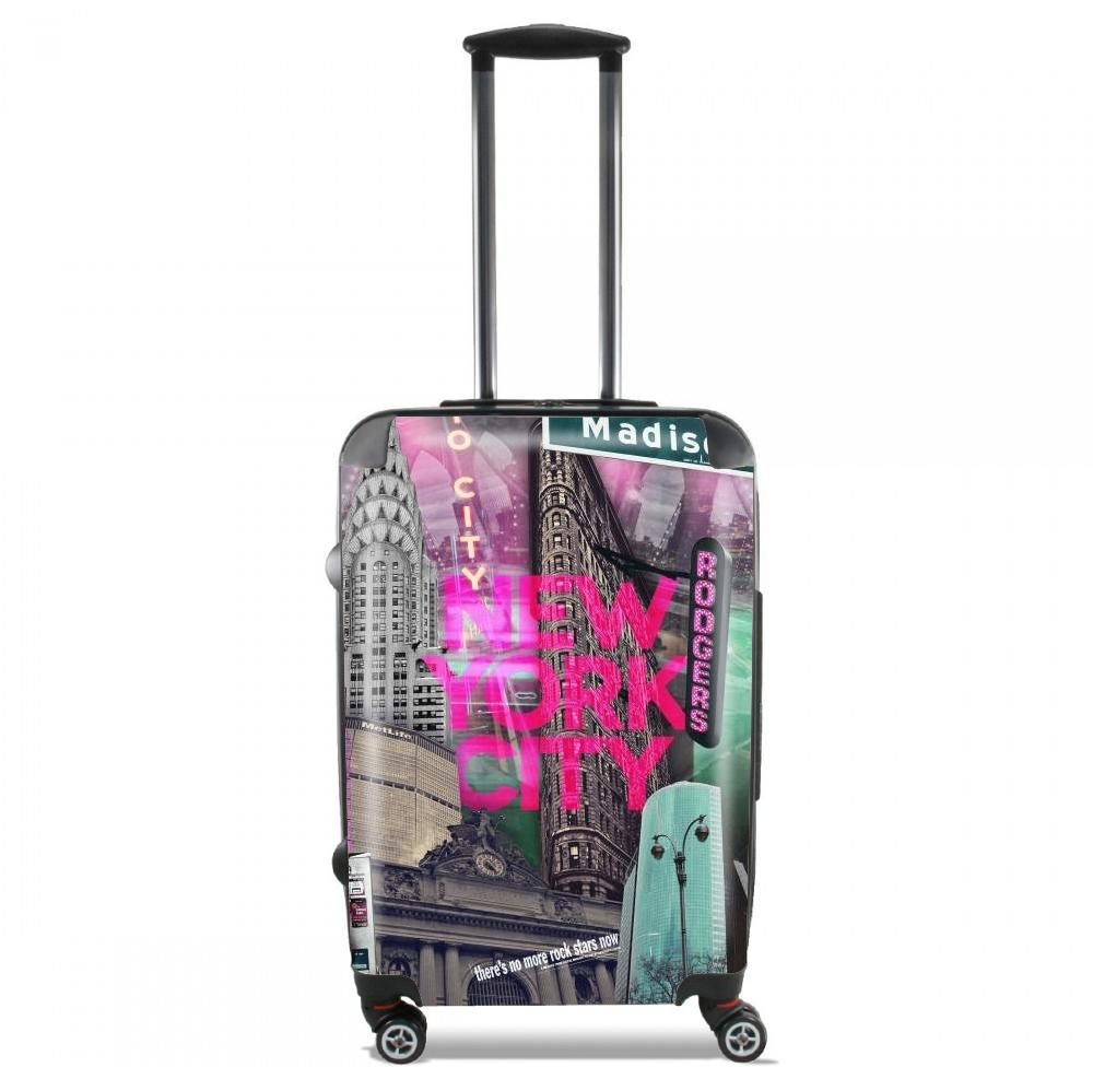 valise bagage cabine new york city ii pink. Black Bedroom Furniture Sets. Home Design Ideas