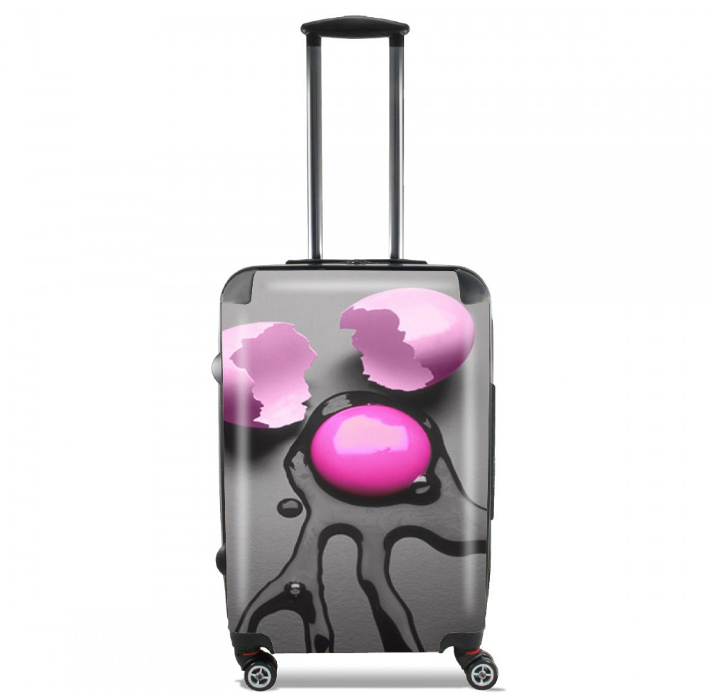Pink Egg for Lightweight Hand Luggage Bag - Cabin Baggage