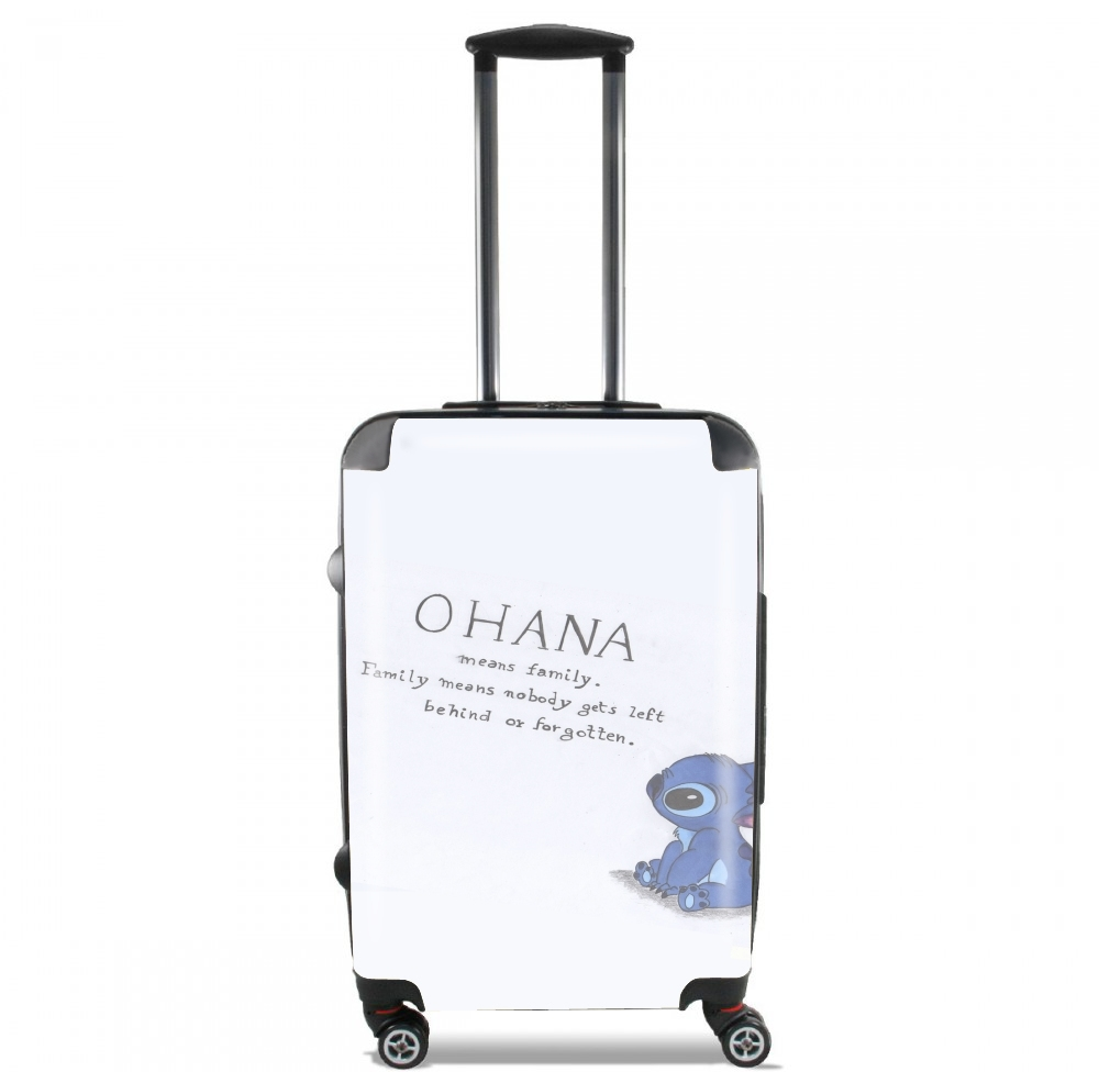 Ohana Means Family for Lightweight Hand Luggage Bag - Cabin Baggage