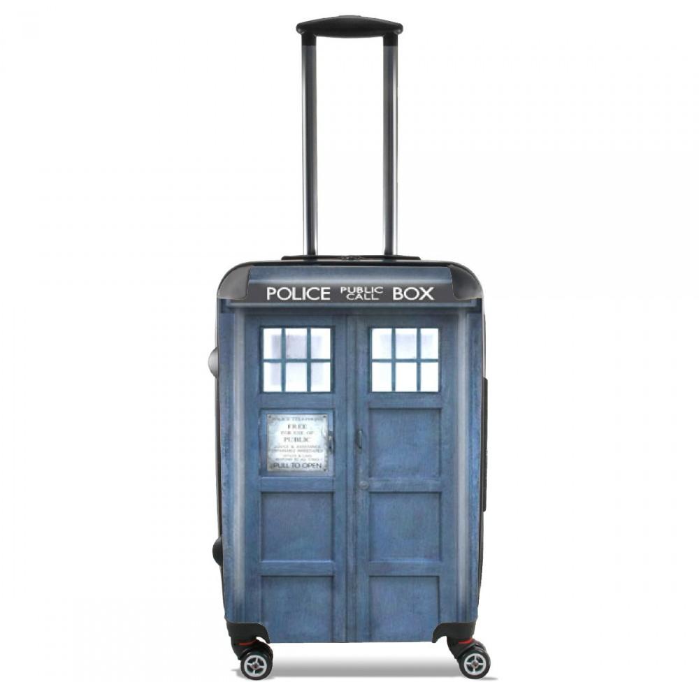 valise bagage cabine police box. Black Bedroom Furniture Sets. Home Design Ideas