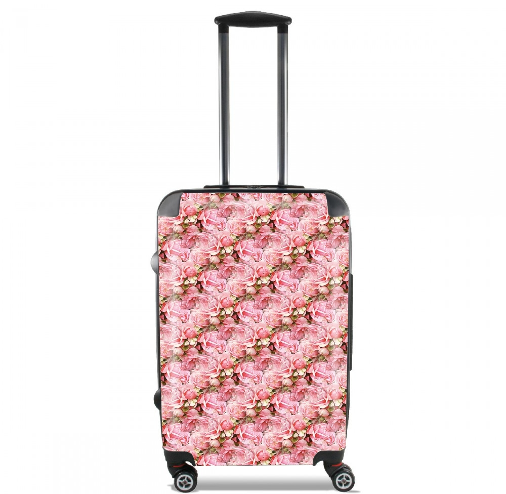 valise bagage cabine bouquet de roses. Black Bedroom Furniture Sets. Home Design Ideas