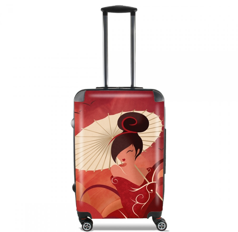 Sakura Asian Geisha for Lightweight Hand Luggage Bag - Cabin Baggage