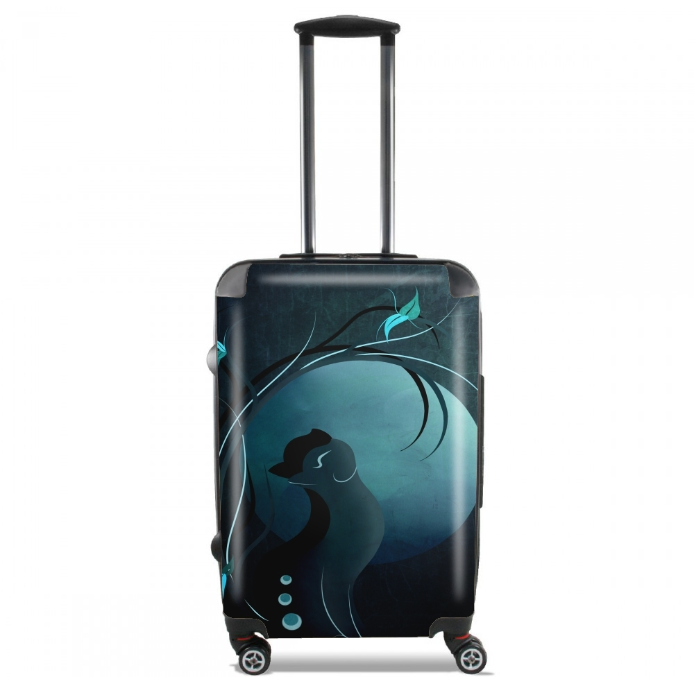 Sensual Cat in the Moonlight  for Lightweight Hand Luggage Bag - Cabin Baggage