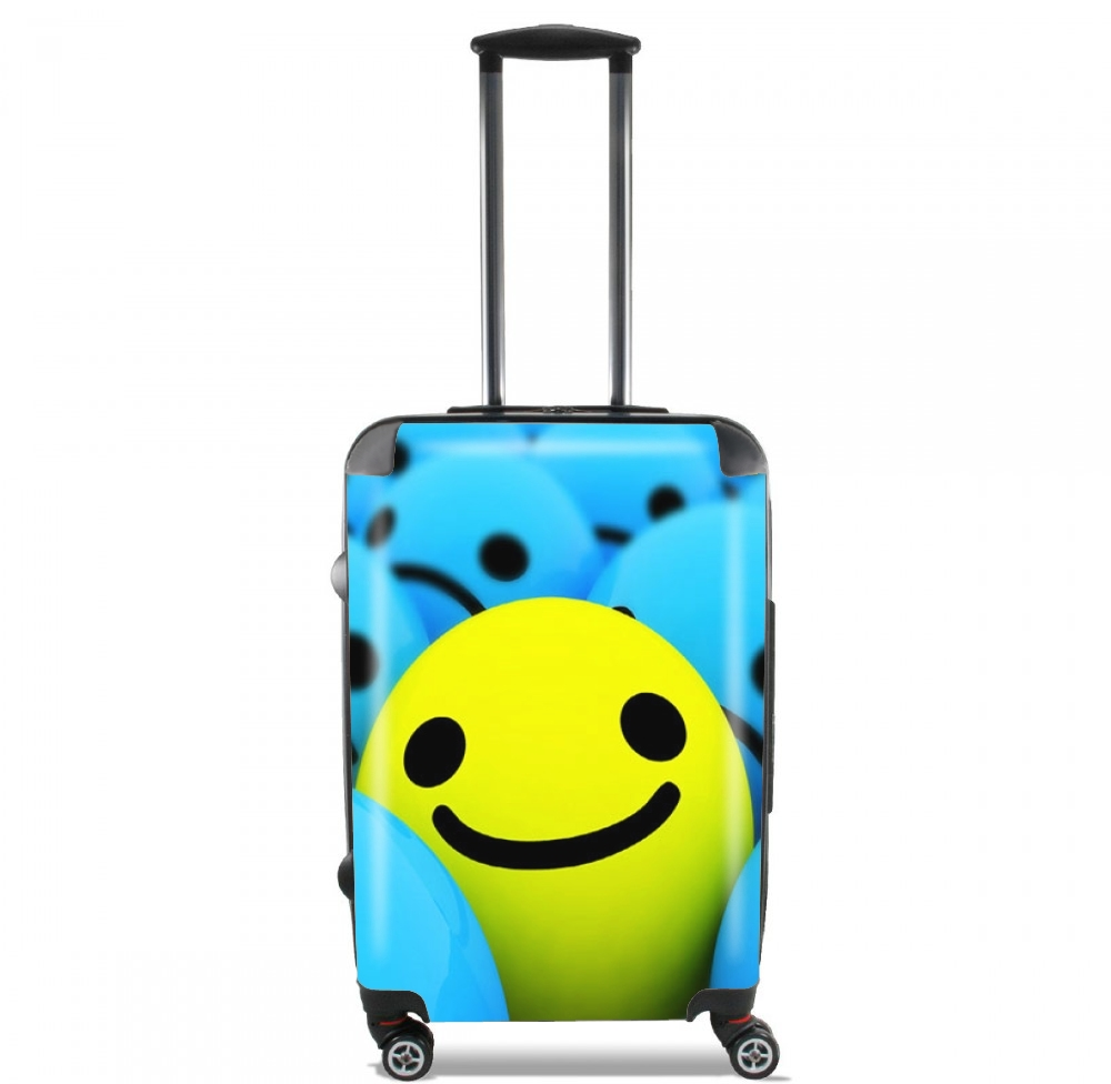Smiley - Smile or Not for Lightweight Hand Luggage Bag - Cabin Baggage