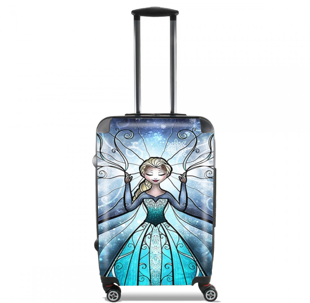 Valise bagage cabine la reine des neiges for Housse 3ds xl reine des neiges