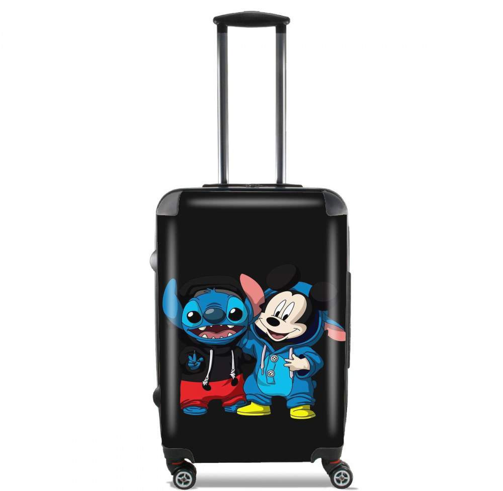 Stitch x The mouse for Lightweight Hand Luggage Bag - Cabin Baggage