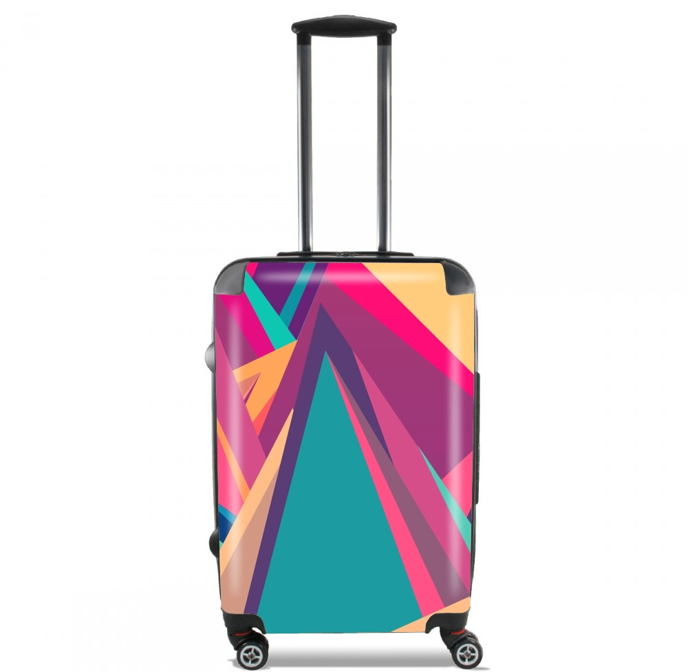 valise bagage cabine triangles intensive full. Black Bedroom Furniture Sets. Home Design Ideas