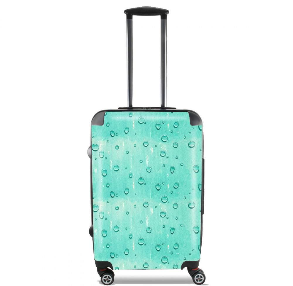 valise bagage cabine water drops pattern. Black Bedroom Furniture Sets. Home Design Ideas