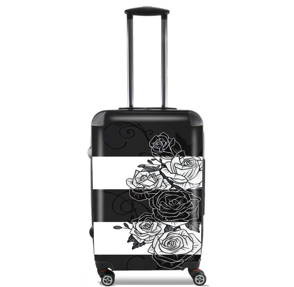 valise trolley bagage xl inverted roses. Black Bedroom Furniture Sets. Home Design Ideas